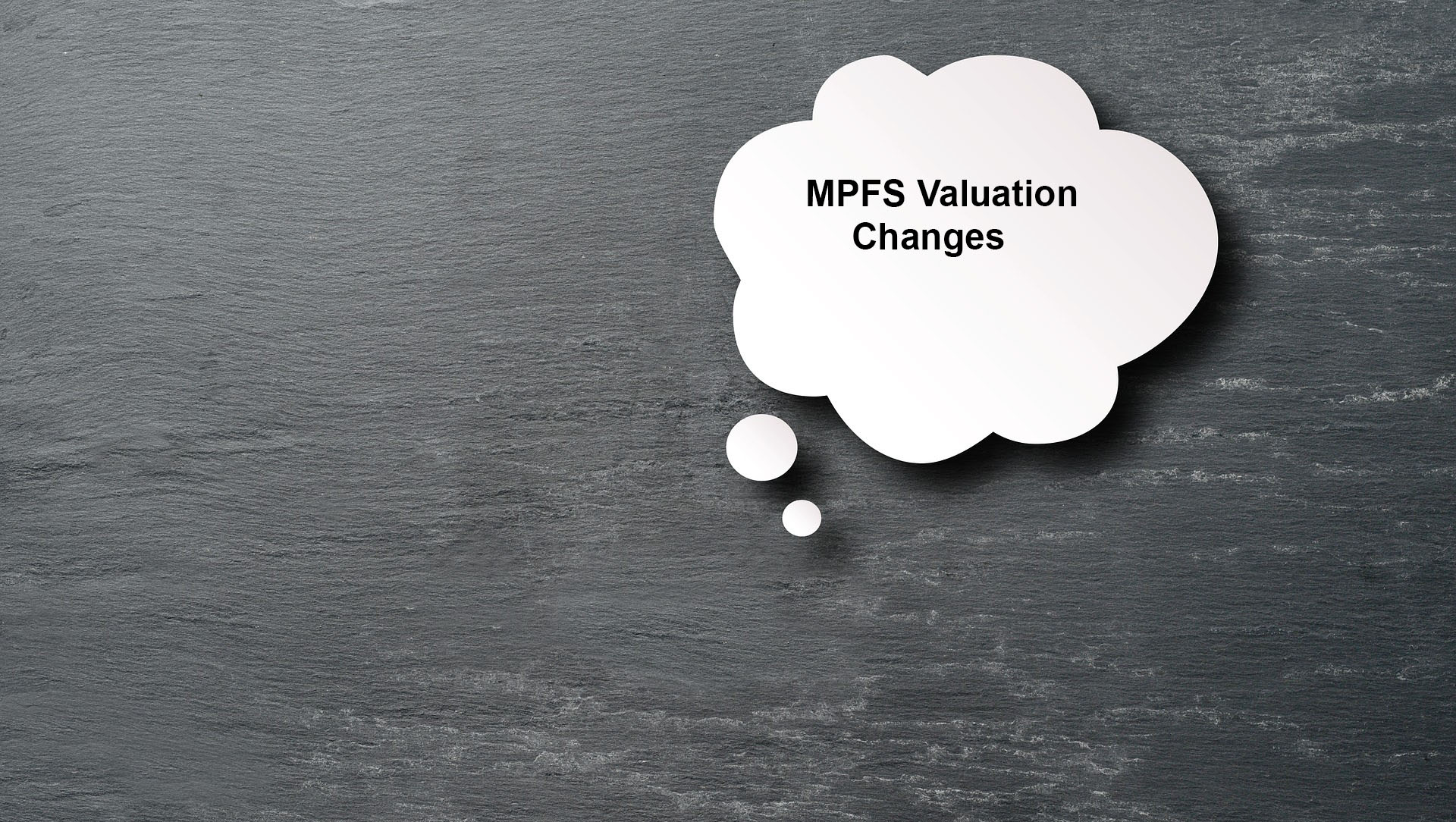 Understanding The Valuation Changes In The Final Medicare